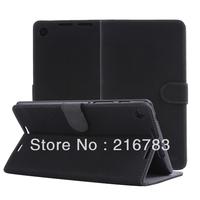 10 Pcs/Lot2013 New Luxury Retro High Quality Smart Flip PU Leather Case for Google Nexus 7 II 2nd New 2 generation Free Shipping