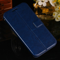 Wholesale Flip Leather Case for Samsung Galaxy Mega 5.8 9150 i9150 High Quality PU Leather Wallet Case Half Fold pattern