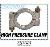 Stainless Steel 3A-13MHP HIGH PRESSURE CLAMP WITH BRASS NUTS