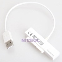 NI5L 15+7 Pin USB 2.0 to SATA Adapter Cable for 2.5 Inch HDD Hard Drive Laptop