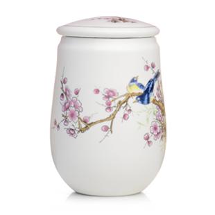 Vasilha de cerâmica tanque de armazenamento de chá verde chá em cerâmica caddy dehua de chá em cerâmica caddy Tieguanyin chá caddy(China (Mainland))
