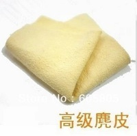 Free shipping EMS 200pcs  Deerskin advanced chamois glasses cloth camera cloth lens cloth cleaning cloth camera clean