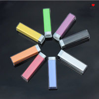 2600 mA rechargeable lipstick wholesale mobile power charging treasure treasure Lip Factory sales Quality Assurance