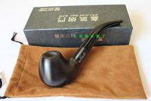 Ebony wood tobacco smoking pipe exquisite k813 !