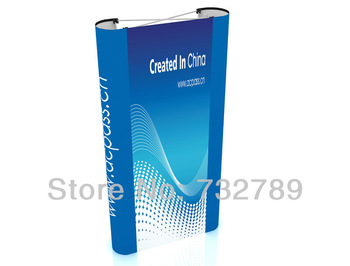 3*1 Tension  Pop UP display stands+ fabric trolley case + graphic printing BST4-2