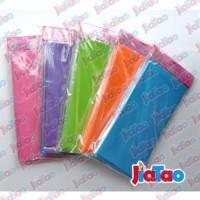 New arrival birthday disposable table cloth plain table cloth