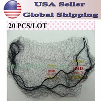 Free Shipping-20pcs Cheap Ultrafine invisible elastic fine mesh wig/toupee/hair extension/weft protection--net mesh//