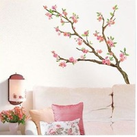 new bedroom kitchen CHERRY BLOSSOMS tree MURAL ART WALL STICKER DECAL deco
