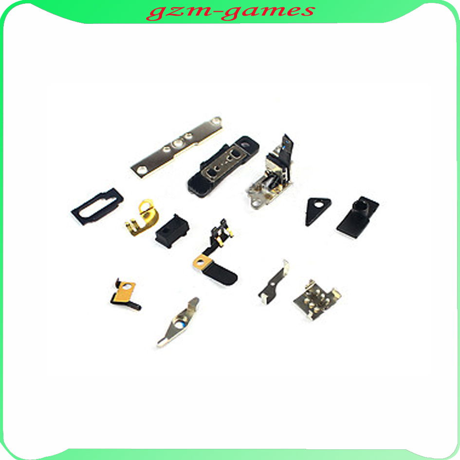 5pcs/lot For Iphone 4S 4GS 13 in 1 Side Button Inner Retaining Bracket Holder Repair Parts Replacement Free Shipping