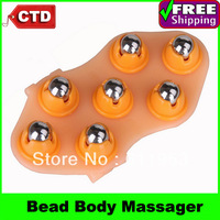 Convenient  Creative 360 Degree Rotating Steel Bead Body Massager