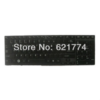New Glossy Laptop Keyboard with Backlit for Toshiba Satellite P750 P750D P755 P755D P770 Series Notebook US Layout Free Shipping
