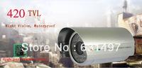 CCTV 420 TVL  Array IR LED Security camera Outdoor Waterproof  Surveillance System With Night Vision function  Free shipping