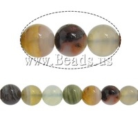 Free shipping!!!Natural Botswana Agate Beads,Jewellery, Round, 8mm, Hole:Approx 1mm, Length:16 Inch, 5Strands/Lot, Sold By Lot