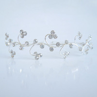 Exquisite Headdress Crystal Headbands Flower Hair Jewelry Women Girls Favorite Accessories