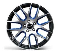 auto car wheel hub 17 inch car rim blue luxury design for cruze