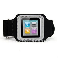 Free shipping Sport Fitness Armband Cover Case for iPod Nano 6 6th Running Armband