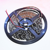 5M 3528 Waterproof Black PCB Board Cool White/Warm White/Red/Blue/Green/Yellow IP65 SMD Flexible 300 LED Strip Lights