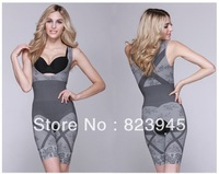 Bamboo Charcoal Magic Garment Seamless The Slimming Corset Suit Abdomen in long Siamese bodysuit women Free-shipping