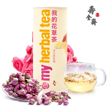 Herbal tea rose tea french rose pink rose tea special grade