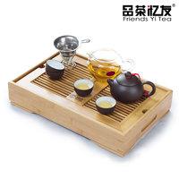 Yixing purple clay tea set bamboo tea tray kung fu tea ceramic set tea sets