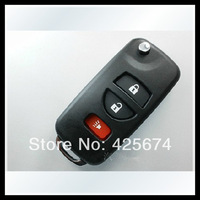 wholesale free shipping for nissan Tiida 3button modified folding key shell with the best price