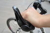Ergon Bar End Handlebar Cycling Grips Bicycle Mountain Bike MTB Ergonomic Bike MTB Rubber Aluminum Barend Black Free Shipping