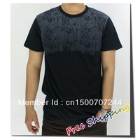 free shipping New Arrival,Hot Sell men's top t-shirts andStretch slim size Bamboo Fiberm pure colour cotton