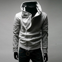 Free shipping Hot-selling sweatshirt localize sweatshirt brushed outerwear winter with a hood sweatshirt slim