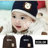 Free Shipping 2013 Autumn Baby Hat Baby Cap Infant cap + Boys & Girls Hats Little Lion Infant Children Hat