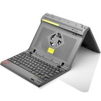 Sallei jk02uah folding notebook cooling mount keyboard fan
