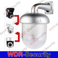 Outdoor Waterproof Dome Housing Enclosure for Security CCTV IP Pan Tilt Camera