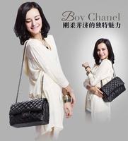 2013 new black Lingge chain female bag retro shoulder bag diagonal handbags