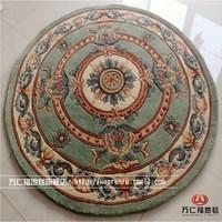 Flower pattern green fashion pure wool carpet living room carpet bedroom carpet customize