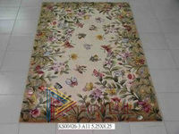 Handmade wool carpet coffee table fashion customize t rustic