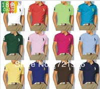 2013 fashion  casual Men's short-sleeved T-shirt wholesale