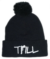 Quality goods!winter and autumn cotton hat.Unisex Boys Girl Hip-Hop Knitting Wool Beanie TRILL Hats!! Free shipping.
