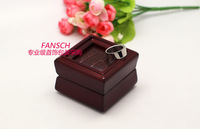 Solid wood ring box high-class european-style ring box palace restoring ancient ways princess wooden jewelry box