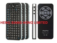 5 in 1 Gyroscope IR Learning  Remote Control Russian / English  2.4G Mini wireless keyboard fly air mouse iPazzPort KP-810-16