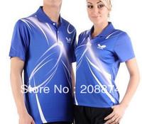 Wholesale ! New 2011 Butterfly Men Badminton /table tennis Polo T-Shirt 239