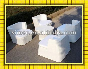 resin wicker patio furniture SCAC-005