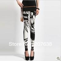 Best Selling!lady women legging geometry patterned leggings render pants free shipping