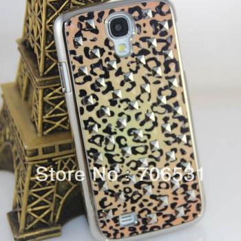 Nice Rivet Hard Starry Chromed Case for Samsung Galaxy S4 I9500