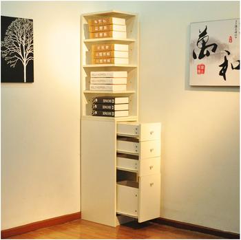 Cabinet corner bookcase triangle cabinet side cabinet corner cabinet storage lockers