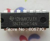SN74HC14N - HEX SCHMITT-TRIGGER INVERTERS  DIP-14   (new and original) 50pcs/lot Free shipping