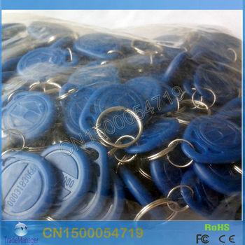 100pcs RFID  Tag 125Khz ID Card EM4100/EM4200 Blue   Free shipping