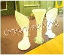 RGB remote control PE luminous furniture Modern LED bar chair /LED chair /bar nightclub stool