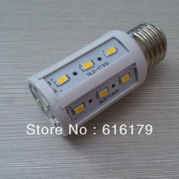 Wholesale 220-240V 7W E27 24 LED Screw Corn Bulb Warm White / Cool White Light