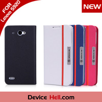 Vintage Original NILLKIN brand Fashion Design Flip Leather cover Case Lenovo S920 + Retail Package, Free Shipping