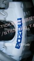 Mazda 3 star import/M3 MAZDA3 lack brake calipers English word reflective car sticker ,4pcs