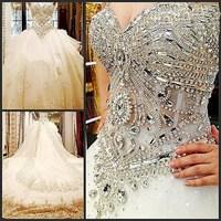 2013 bandage tube top wedding dress princess big train wedding dress 2013 crystal